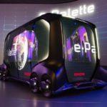 Toyota e-Palette concept: Xe tự lái tương lai