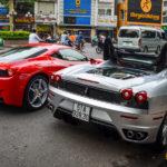 Cặp siêu xe Ferrari F430 Spider xuất hiện ở Sài Gòn