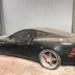 Siêu xe Aston martin Vanquish đầu tiên ở Việt Nam bị bỏ rơi