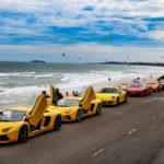 Dàn siêu xe, xe siêu sang chiều cuối năm trên phố Việt