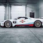 Siêu xe Ford GT Martini đẹp không tỳ vết