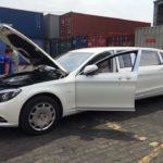 Xe thân dài Mercedes Maybach S600 pullman đầu tiên về Việt Nam