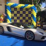Siêu xe Lamborghini mui trần xuất hiện ở thành phố Thanh Hóa
