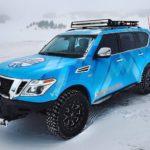 Nissan Armada Snow Patrol 2018 xuất hiện trên đường tuyết