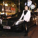 Ca sĩ Quang Hà đẹp trai lái Mercedes S500 giá gần 8 tỷ đi sự kiện
