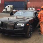 Xe siêu sang Rolls-Royce Wraith Black Badge giá hơn 30 tỷ về Hà Nội