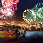 Ảnh dàn siêu xe tuyệt đẹp đón năm mới 2018