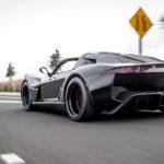 Rezvani Beast Alpha X Blackbird dùng động cơ 2,5 lít nhưng mạnh hơn máy V12