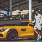 Tay vợt Roger Federer kiếm thêm 5 triệu USD / năm nhờ làm đại sứ thương hiệu Mercedes