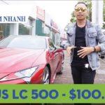 Đánh giá chi tiết xế sang Lexus LC500 mới về Hà Nội
