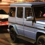 Justin Bieber lái Mercedes G63 AMG bị Range rover Velar húc đuôi