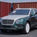 Bentley Bentayga màu xanh cực hiếm về Việt Nam