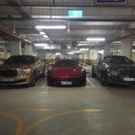 Choáng hầm toàn xe siêu sang, siêu xe ở Hà Nội