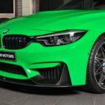 BMW M4 mang màu xanh độc cùng gói nâng cấp M Performance