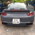 Siêu xe Porsche 911 Turbo S hơn 10 tỷ ra biển Bình Dương