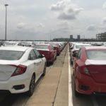 1.054 xe hưởng thuế 0% của Honda sắp đến tay người tiêu dùng