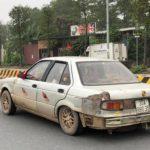 Xe rất cũ nát vẫn chạy nhanh trên cao tốc Hà Nội – Thái Nguyên