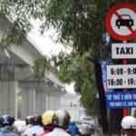 Kiến nghị bỏ biển cấm taxi hoạt động trên 11 tuyến phố ở Hà Nội