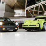 Xe thể thao Porsche 911 lắp ráp bằng đồ chơi Lego