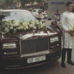 Hàng khủng Rolls-Royce Phantom 50 tỷ làm xe dâu Hà Nội