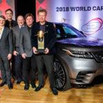 Range Rover Velar được bầu chọn là xe đẹp nhất thế giới 2018