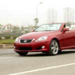 Xe sang Lexus LS250 mui trần giá bán lại ở VN chỉ từ 780 triệu đồng