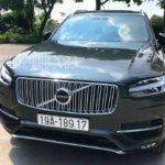 Xế sang Volvo XC90 2018 màu xanh rêu độc ra biển số Phú Thọ