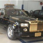Rolls-Royce Phantom rồng mạ vàng bán lại giá rẻ 17,5 tỷ ở Việt Nam