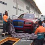 Xe siêu sang Rolls royce Cullinan đầu tiên đến Ả Rập