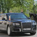Tổng thống Nga Putin đi xe siêu sang chống đạn trong lễ nhậm chức