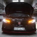 Sài Gòn: Xe Honda Civic độ khủng nửa tỷ đồng