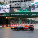 Siêu xe đua F1 đầu tiên chạy thật ở Việt Nam