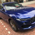 Maserati Levante 2017 chính hãng màu xanh độc phô diễn nội thất