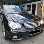 Mercedes C200 đời 2005 bán lại giá chỉ còn 250 triệu đồng