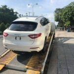 SUV sang trọng Maserati Levante ra biển số tỉnh Kiên Giang