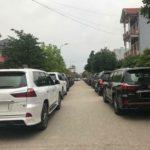 Dàn xe sang Lexus LX570 ở Móng Cái Quảng Ninh