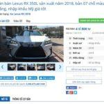 Xế sang Lexus RX350L 2018 giá bán từ 4,8 tỷ đồng ở Việt Nam