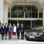Khách sạn REX Sài Gòn mua 2 chiếc Mercedes E250 2018 mới