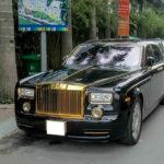 Rolls royce Phantom rồng mạ vàng 35 tỷ chạy taxi ở Quảng Ninh