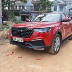Xe Trung Quốc Zotye Z8 về Nghệ An khiến nhiều người tưởng xe đắt tiền