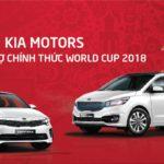 Hãng xe KIA tài trợ chính thức cho World cup 2018