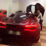 Cường đôla mới mua thêm siêu xe Mclaren 720S đỏ 25 tỷ đồng ?