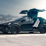 Xe sang Tesla Model X bản cao cấp P100D độ body bởi T-Sportline