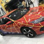 Con mê siêu anh hùng bố độ xe phong cách người nhện