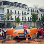 Xế sang Audi TTS 2010 của Tùng Giang giá trị khoảng 900 triệu đồng