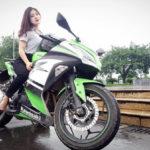 Điểm mặt những Hot girl Việt đam mê siêu xe mô tô phân khối lớn