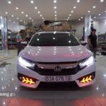 Honda CIVIC 2017 độ pô thể thao ở Sài Gòn