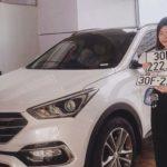 Hyundai Santa Fe giá 900 triệu bốc được biển ngũ quý 2 ở Hà Nội