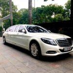 Hàng khủng Maybach S600 Pullman tái xuất trên phố Việt