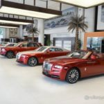 Showroom xe siêu sang khủng Rolls royce đời mới cực khủng